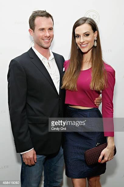 Fashion designer Ariana Rockefeller and husband Matthew Bucklin attend the opening reception to celebrate Ariana Rockefeller Fall/Winter 2014...