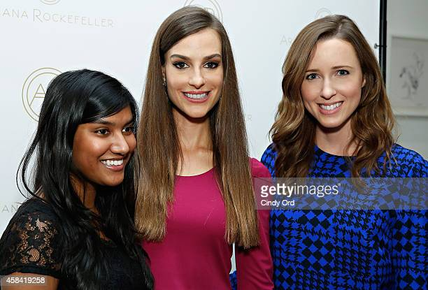 Fashion designer Ariana Rockefeller attends the opening reception to celebrate Ariana Rockefeller Fall/Winter 2014 collection at the Ariana...