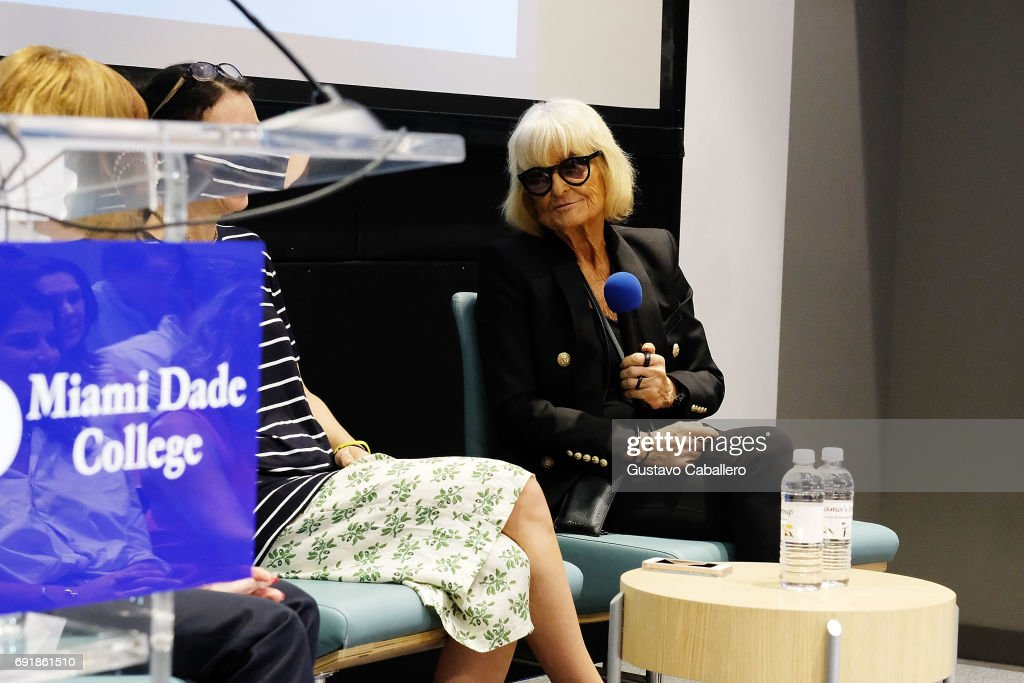 Fashion Designer Artist Barbara Hulanicki Speaks At The Miami News Photo Getty Images