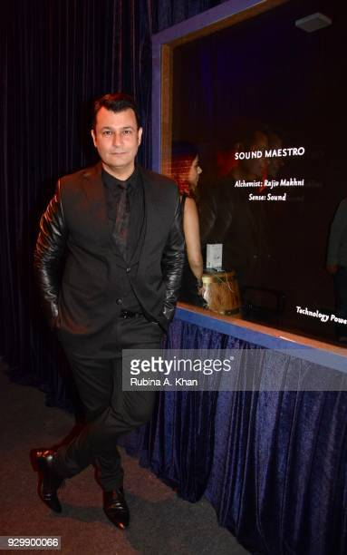Fashion designer Ashish N Soni attends the second edition of Chivas Alchemy attends the Lodhi Hotel on March 9 2018 in New Delhi India