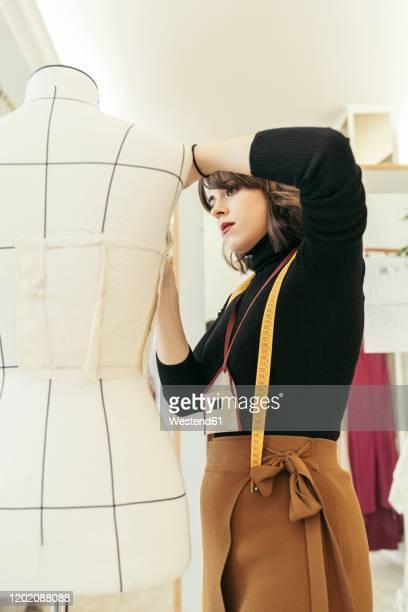 fashion designer at work - fashion designer stock pictures, royalty-free photos & images
