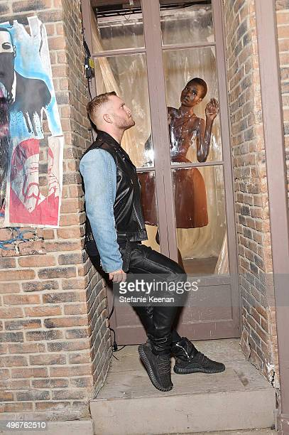 Fashion designer August Getty attends the August Getty Atelier SS 2016 'The Thread Of Man' Presentation With David LaChapelle at Universal Studios...