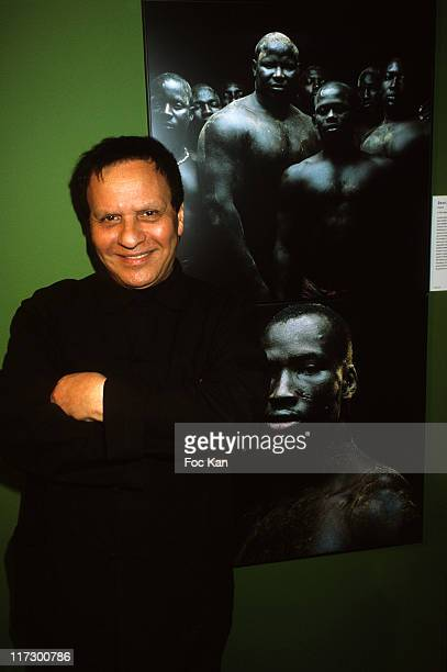 Fashion designer Azzedine Alaia attends the World Press Awards 2010 Exhibition Launch at the Galerie Azzedine Ala•a on May 26 2010 in Paris France