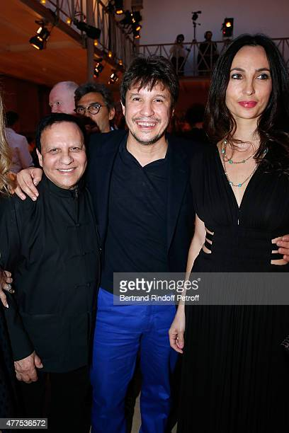 Fashion Designer Azzedine Alaia Contemporary artist Adel Abdessemed and his wife Julie Abdessemed attend the 'Alaia' Azzedine Alaia Perfum Launch...