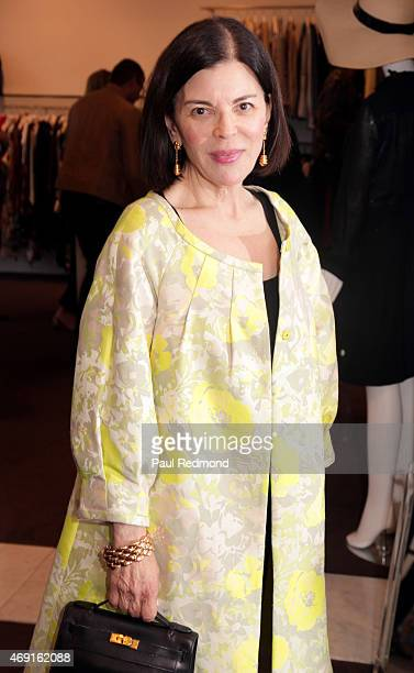 "Fashion designer Barbara Tfank attends ""Gods & Kings: The Rise And Fall Of Alexander McQueen And John Galliano"" book launch party at Decades on April..."