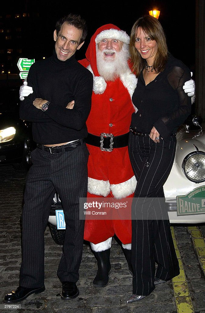 Fashion Designer Ben De Lisi With Partner Debbie And Father Christmas News Photo Getty Images