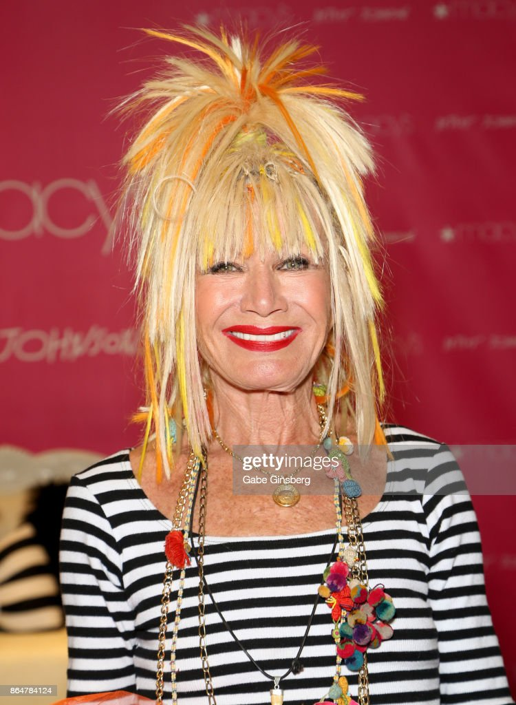 Betsey Johnson Appearance At Macy's At The Fashion Show Mall : News Photo