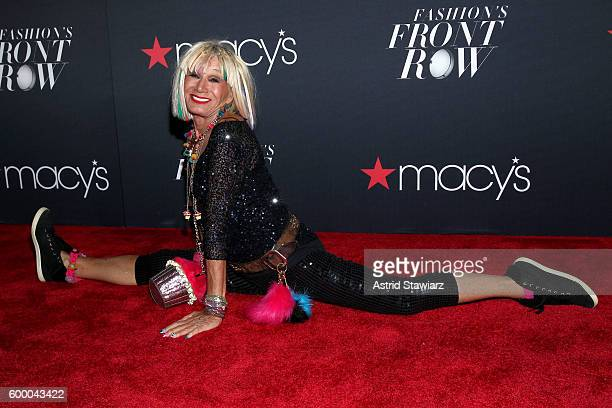 Fashion designer Betsey Johnson attends Macy's Presents Fashion's Front Row on September 7 2016 in New York City
