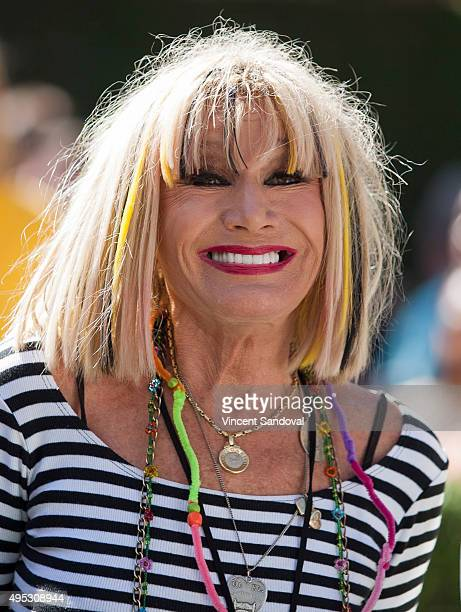 Fashion designer Betsey Johnson attends the premiere of 20th Century Fox's The Peanuts Movie at Regency Village Theatre on November 1 2015 in...