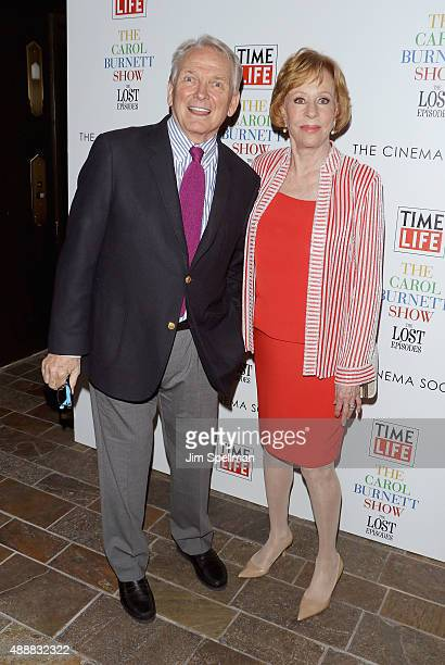 """Fashion designer Bob Mackie and actress/comedian Carol Burnett attend """"The Carol Burnett Show: The Lost Episodes"""" screening hosted by Time Life and..."""
