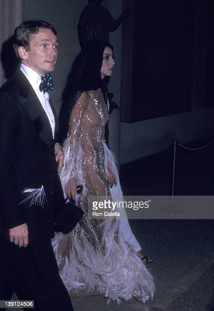 Fashion designer Bob Mackie and singer Cher attend The Metropolitan Museum of Art's Costume Insitute Gala Exhibition Romantic and Glamorous Hollywood...