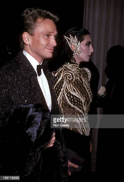 Fashion designer Bob Mackie and singer/actress Cher attend The Metropolitan Museum's Costume Institute Gala Exhibition of 'Costumes of Royal India'...