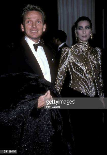 Fashion designer Bob Mackie and singer/actress Cher attend The Metropolitan Museum's Costume Institute Gala Exhibition of Costumes of Royal India on...