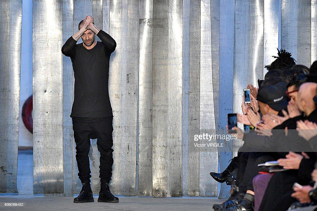Boris Bidjan Saberi : Runway - Paris Fashion Week - Menswear F/W 2017-2018