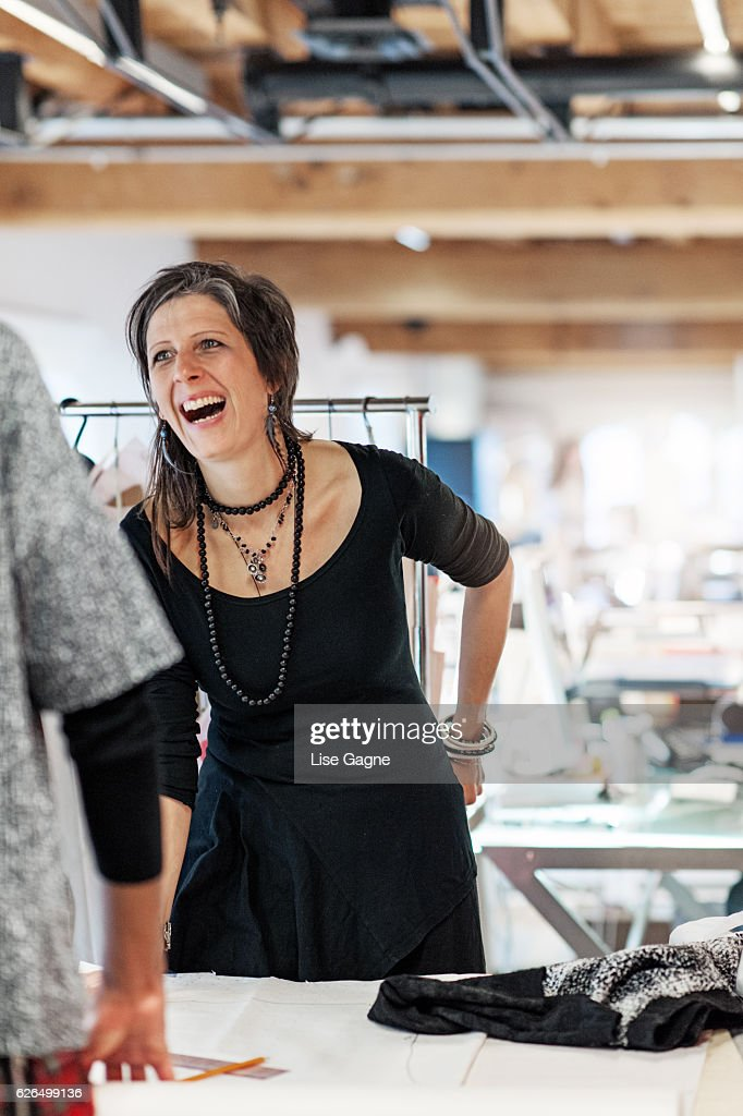 Fashion Designer Business : Stock Photo