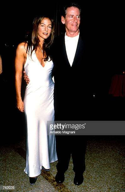 Fashion designer Calvin Klein and his wife Kelly attend the Costume Institute Gala at the MET December 121994 in New York city