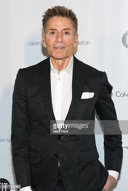 Fashion Designer Calvin Klein attends FIT's The Future Of Fashion Runway Show at The Fashion Institute of Technology on May 1 2014 in New York City