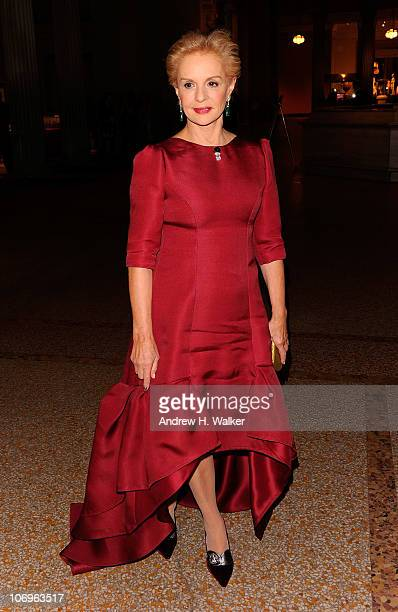 Fashion designer Carolina Herrera attends 7th Annual Apollo Circle Benefit at The Metropolitan Museum of Art on November 18 2010 in New York New York