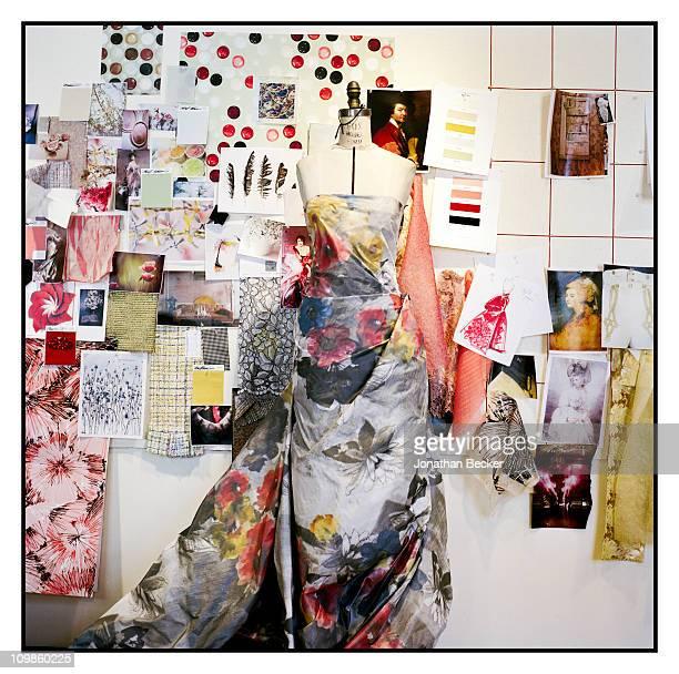 Fashion designer Carolina Herrera's dress design is photographed for Vogue Espana on May 5, 2010 in New York City. Published image.