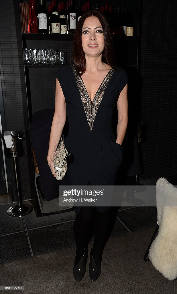 Fashion designer Catherine Malandrino attends the after party for The Cinema Society & Make Up For Ever screening of 'Electrick Children' at Hotel Americano on March 4, 2013 in New York City.