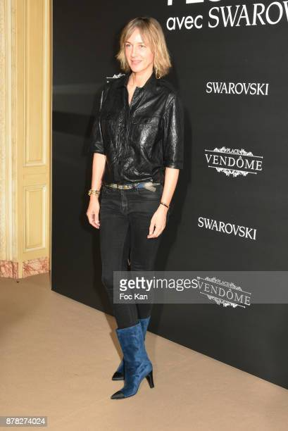 Fashion designer Cecilia Bonstrom from Zadig & Voltaire attend the 'Vogue Fashion Festival' Opening Dinner on November 23, 2017 in Paris, France.