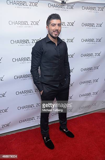 Fashion designer Charbel Zoe attends the launch party of his new Los Angeles flagship store at Charbel Zoe Haute Couture Store on April 7 2015 in Los...