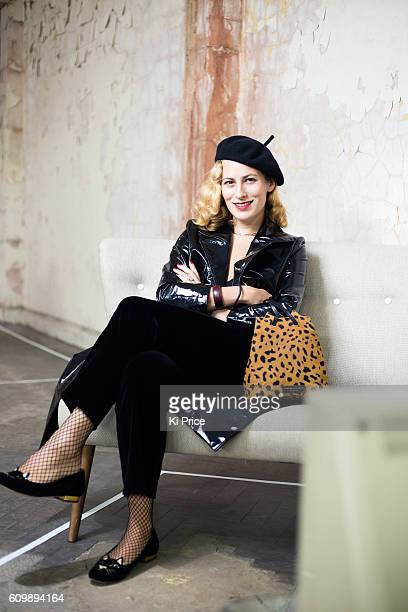 Fashion designer Charlotte Olympia is photographed on September 19 2016 in London England