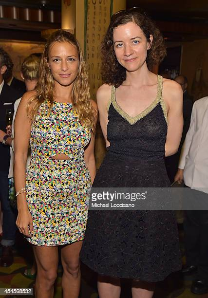 Fashion designer Charlotte Ronson and New York Times fashion features writer Alexandra Jacobs attend the New York Times Vanessa Friedman and...