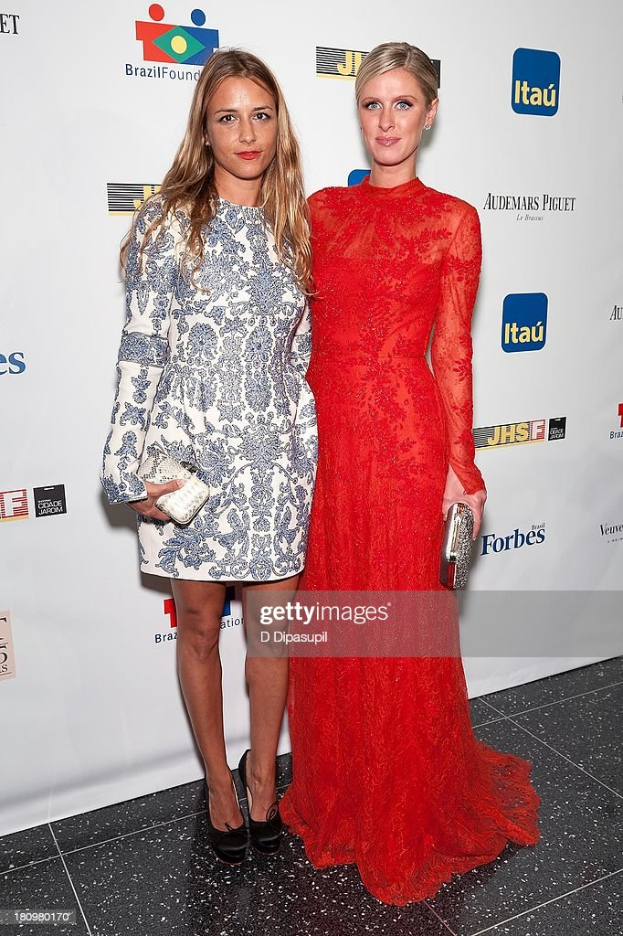 Fashion designer Charlotte Ronson (L) and Nicky Hilton attend the 11th Brazil Foundation NYC gala at The Museum of Modern Art on September 18, 2013 in New York City.