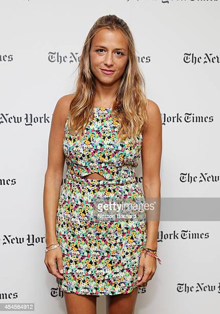Fashion designer Charlotte Ronson attends the New York Times Vanessa Friedman and Alexandra Jacobs welcome party on September 3 2014 in New York City