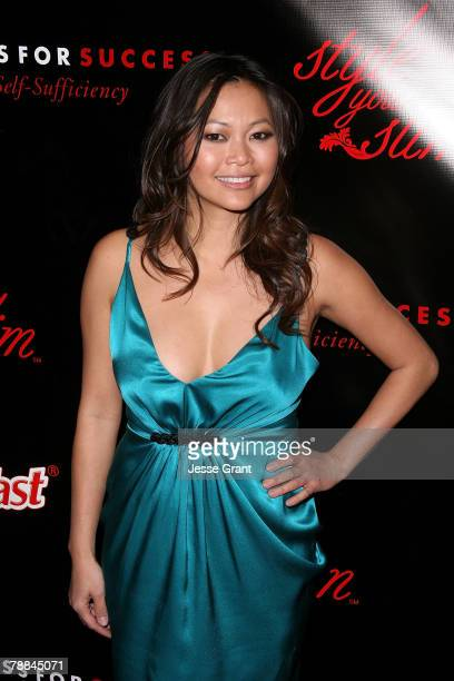 Fashion designer Chloe Dao arrives at the Style Your Slim event presented by Slim Fast at Boulevard3 on January 8 2007 in Hollywood California