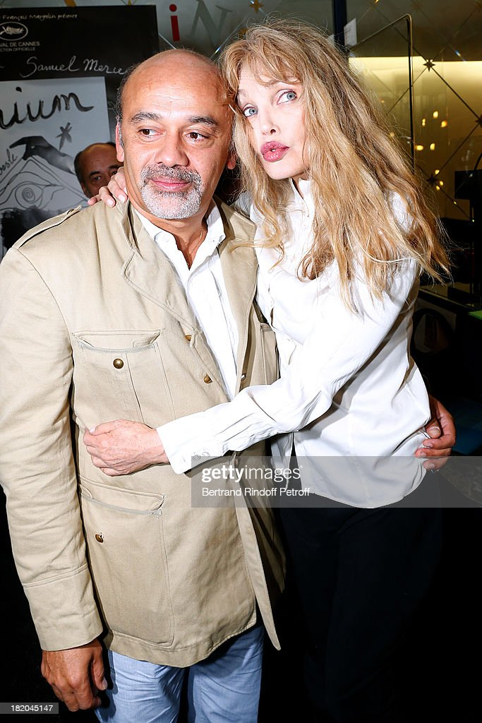 Fashion Designer Christian Louboutin And Director Of The Movie News Photo Getty Images