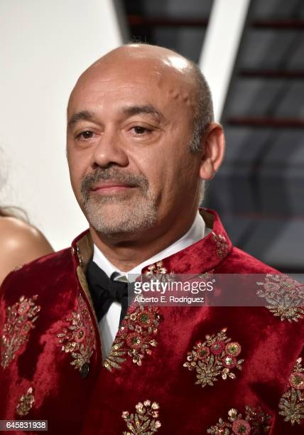 Fashion designer Christian Louboutin attends the 2017 Vanity Fair Oscar Party hosted by Graydon Carter at Wallis Annenberg Center for the Performing...