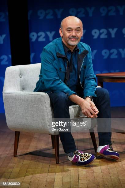 Fashion Designer Christian Louboutin attends the 92Y Fashion Icons conversation at 92nd Street Y on May 17 2017 in New York City