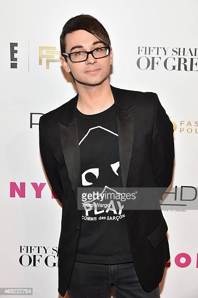 Fashion designer Christian Siriano attends E Fashion Police and NYLON kickoff New York Fashion Week with a 50 Shades of Fashion event in celebration...