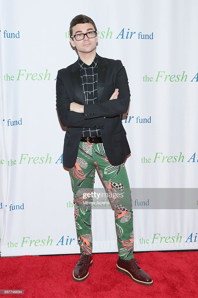 Fashion designer Christian Siriano attends the Fresh Air Fund 140th Birthday Celebration and 2016 Spring Benefit at Pier Sixty at Chelsea Piers on June 2, 2016 in New York City.