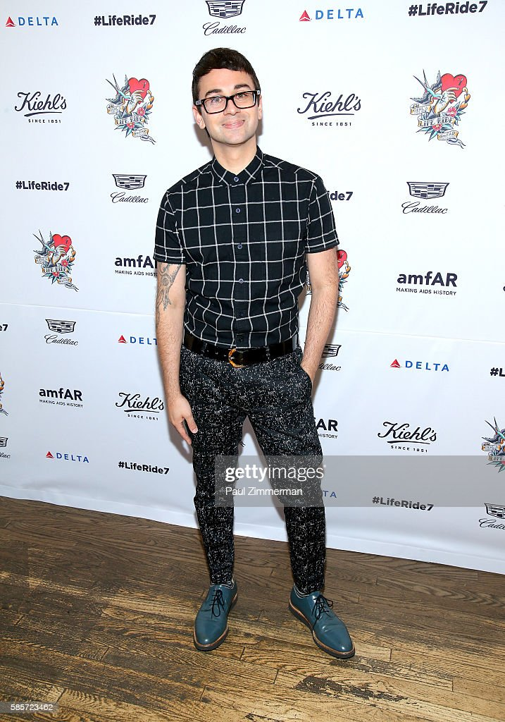 Fashion designer Christian Siriano attends the Kiehl's 7th Annual LifeRide For amfAR at Kiehl's Since 1851 Flagship Store on August 3, 2016 in New York City.