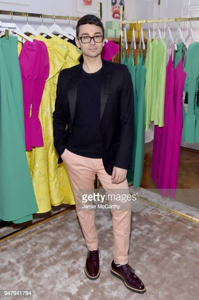 Fashion Designer Christian Siriano attends the Opening Of Christian Siriano's New Store The Curated NYC Hosted By Alicia Silverstone on April 17 2018...
