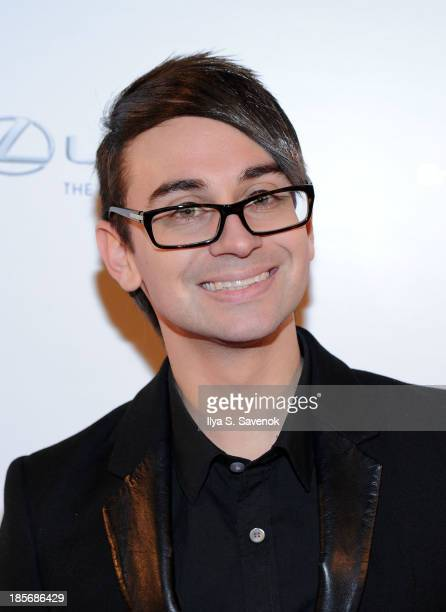 Fashion designer Christian Siriano attends the VIP reception and viewing for The Fashion World of Jean Paul Gaultier From the Sidewalk to the Catwalk...