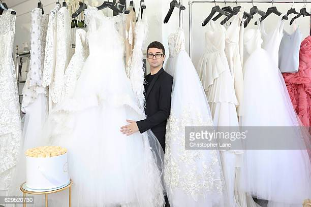 Fashion designer Christian Siriano is photographed for The Guardian Magazine on September 13 2016 in New York City
