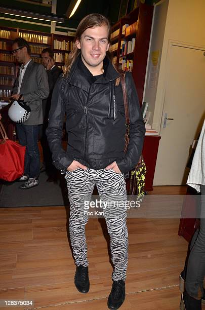 Fashion designer Christophe Guillarme attends the 'Sophie a Cannes' Sylvie Bourgeois Book Launch Cocktail at L'Ecume des Jours on October 6, 2011...