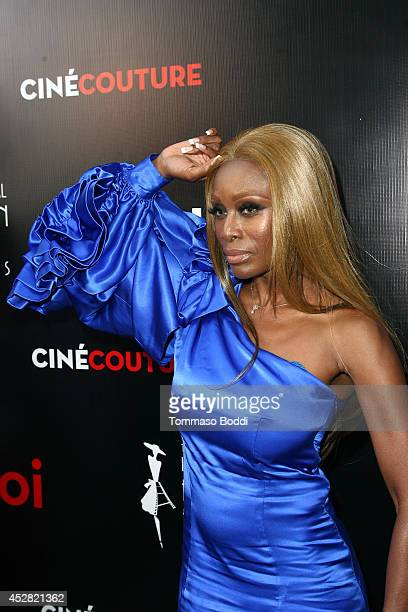 Fashion Designer Coco Johnsen attends the International Fashion Film Awards held at the Saban Theatre on July 27 2014 in Beverly Hills California