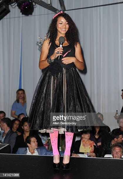 Fashion designer Courtney Allegra Welch attends the 1st Annual Hollywood's Top Designer Awards on March 15 2012 in West Hollywood California