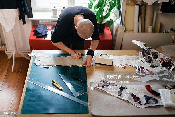 Fashion Designer creating new design