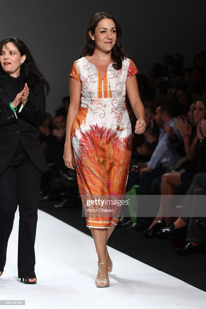 Fashion Designer Cristina Pineda Walks The Runway During News Photo Getty Images