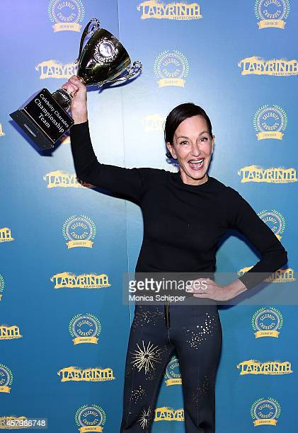 Fashion designer Cynthia Rowley attends Celebrity Charades 2014 Judgment Day at Capitale on October 27 2014 in New York City
