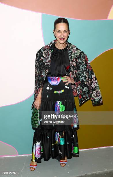 Fashion Designer Cynthia Rowley attends Domino Holiday Popup Shop in partnership with Home Depot and Smartwater to benefit Habitat For Humanity at 44...
