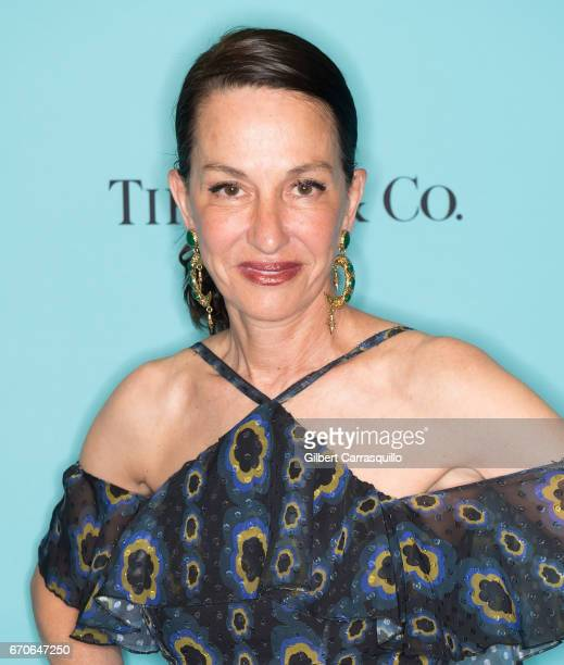 Fashion designer Cynthia Rowley attends Harper's BAZAAR 150th Anniversary Event presented with Tiffany Co at The Rainbow Room on April 19 2017 in New...