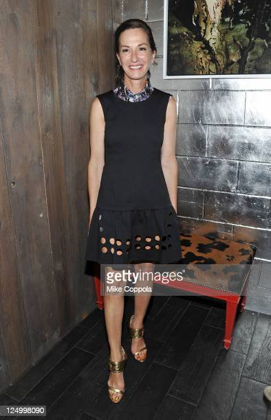 Fashion designer Cynthia Rowley attends the after party for the Cinema Society with Dior Homme GQ screening of Restless at the Electric Room at Dream...