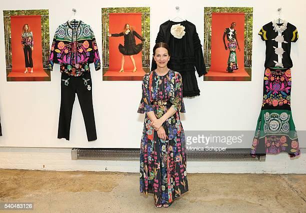 Fashion designer Cynthia Rowley attends the Cynthia Rowley Resort 2017 Presentation at Cynthia Rowley Design Studio on June 15 2016 in New York City